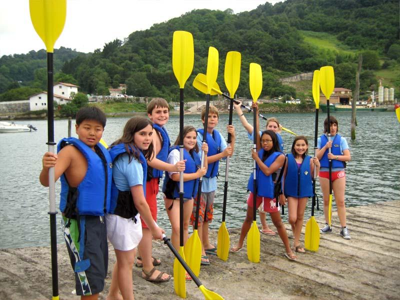 Summer camp in San Sebastian