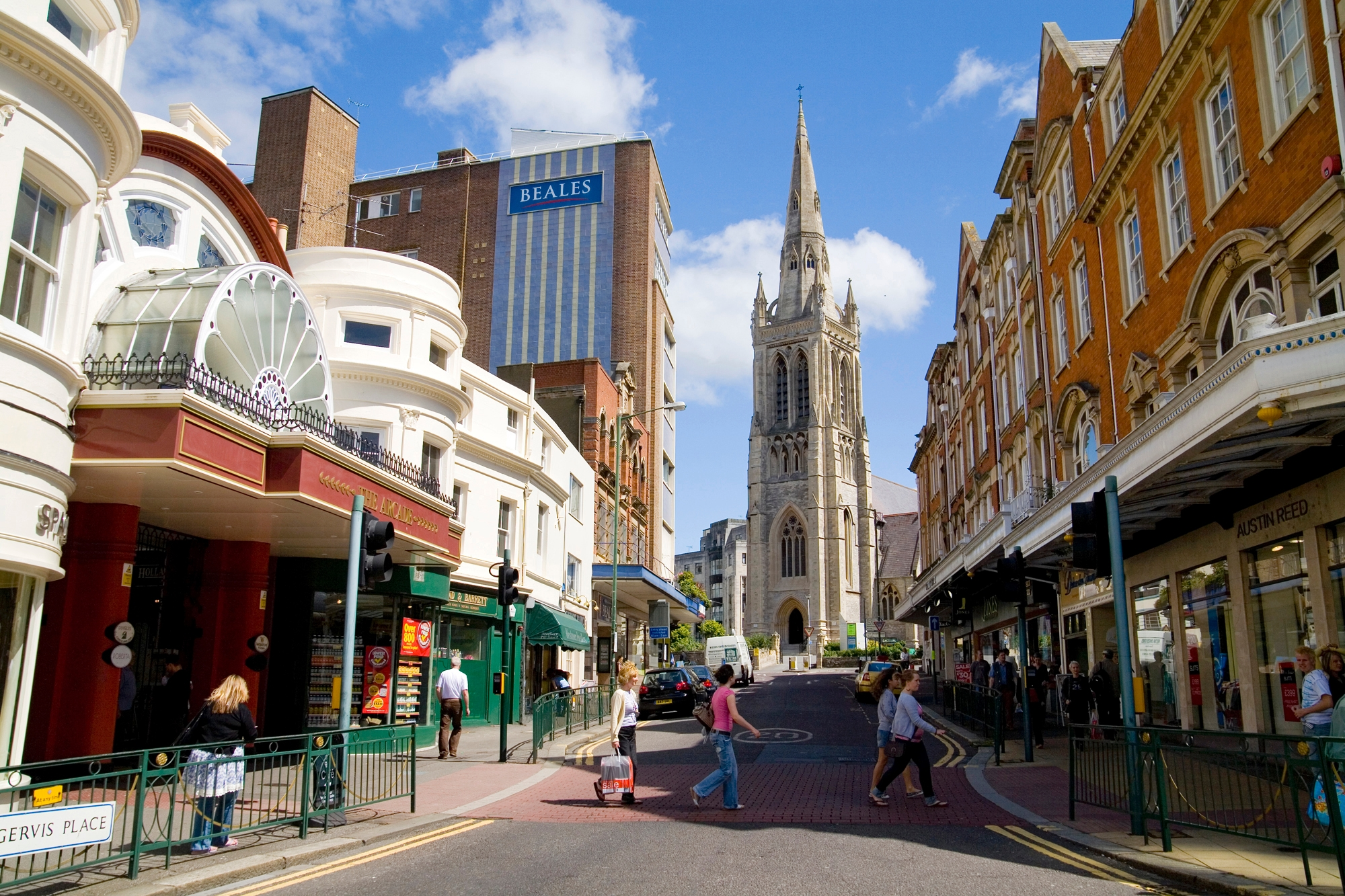 Course English in Bournemouth - Centre